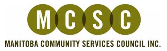 Manitoba Community Service Council